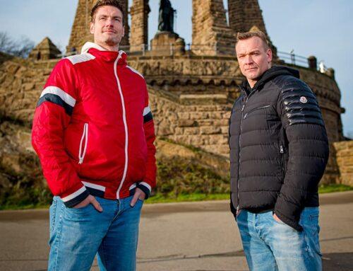 Rekordmänner: Carsten Lichtlein und Christian Zeitz